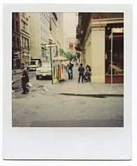 New York City Polaroid Project Image 165